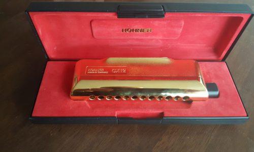 ساز دهنی HOHNER CX12 GOLD