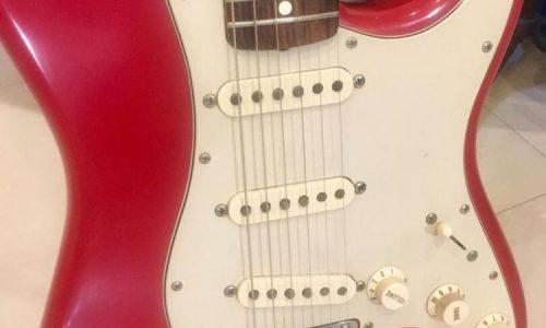 فندر stratocaster mark knopfler signature