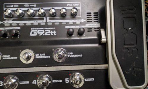 گیتار افکت زوم دو پداله Zoom G9.2 tt