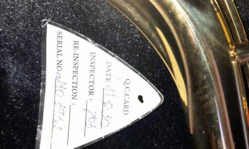 ساکسیفون تنور شاتو ۲۳۱L درحدنو